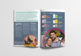CAGES Foundation Annual Report Spread
