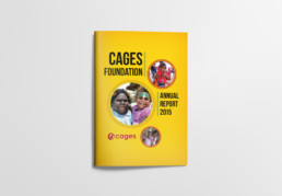 CAGES Foundation Annual Report Cover